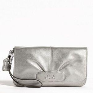 Coach Bags - NWT Coach Leather Large Flap Wristlet